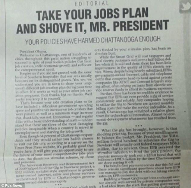 essay on newspaper article